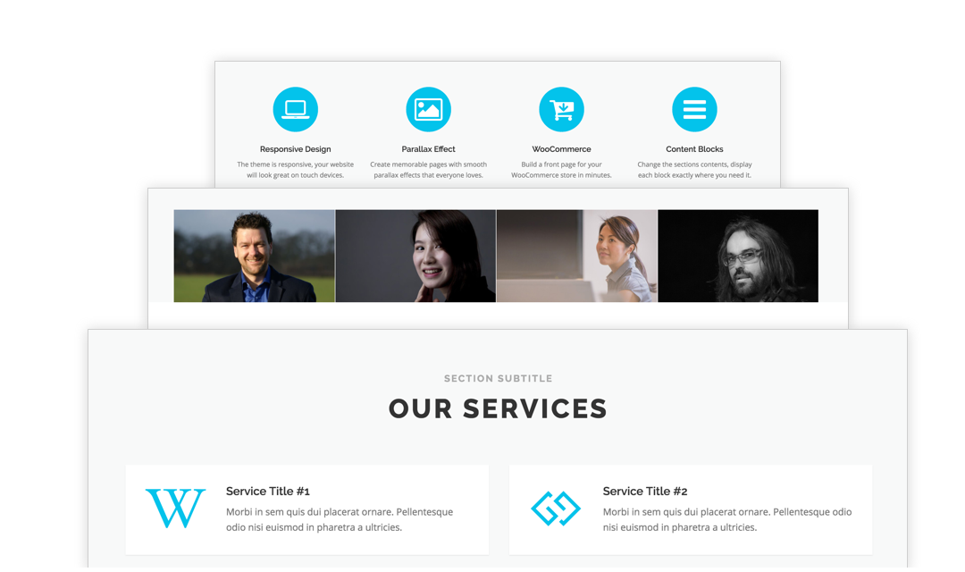 free one page wordpress theme 2019 onepress